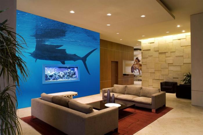 Aquarium Wohnzimmer Schön On Auf Sammlung Finden Sie Ihre Wohnung Dekor Stil 4