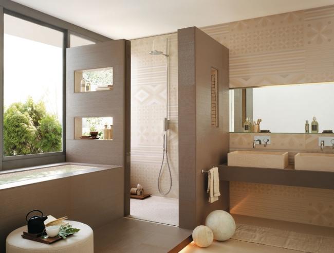 Bad Einrichten Beige Charmant On überall Badezimmer Feinste Braun Süß Auf Plus Design 7