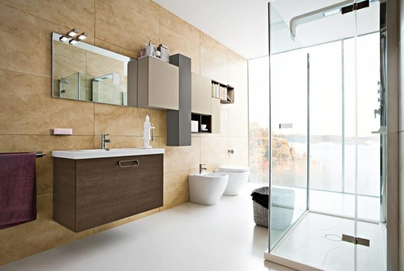Bad Einrichten Beige Einfach On In Bezug Auf 105 Wohnideen Für Badezimmer Einrichtung Stile Farben Deko 4