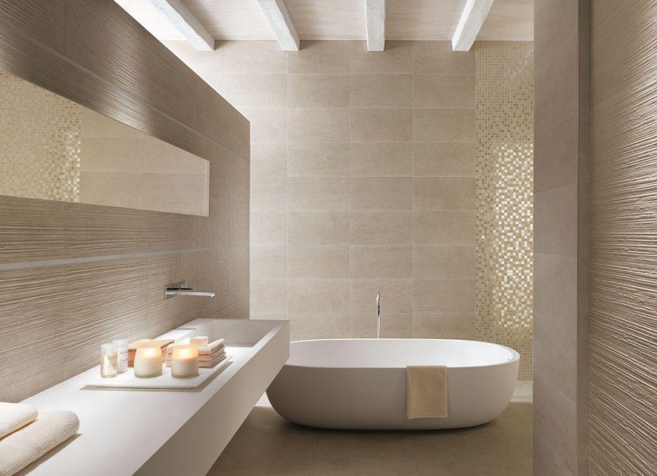 Bad Grau Mit Beige Zeitgenössisch On Auf Home Design Ideas 8