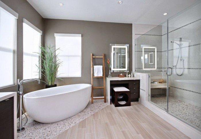 Bad Modern Einzigartig On Auf Badezimmer Fliesen Wohndesign 7