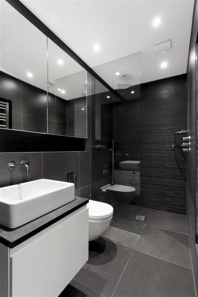 Badezimmer Anthrazit Weiß Fliesen Wunderbar On In Bezug Auf 106 Bilder Beispiele Für Moderne Badgestaltung 8