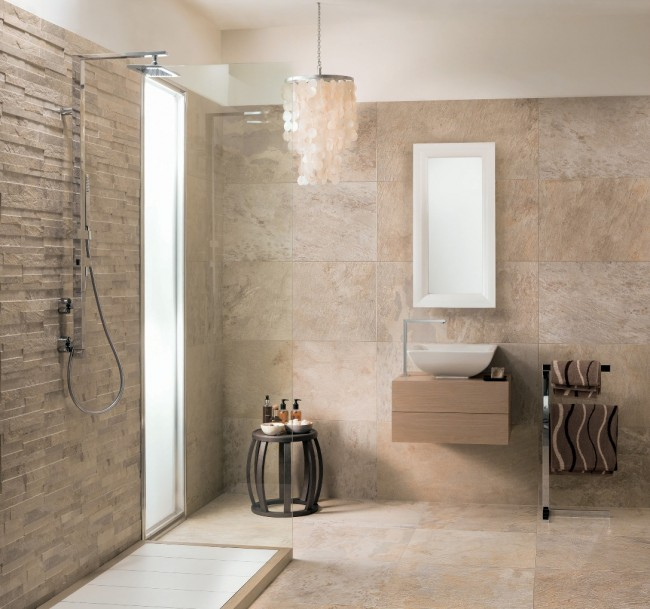 Badezimmer Beige Braun Bemerkenswert On Für In Amocasio Com 9