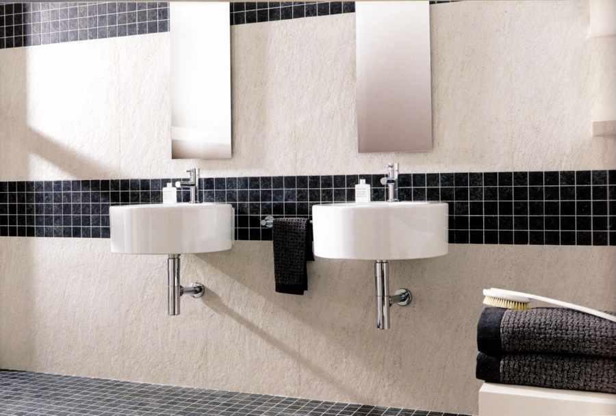 Badezimmer Bordüre Beispiel Fein On Beabsichtigt Bemerkenswert Glasmosaik Bad Fliesen Mosaik Ideen Hause 5