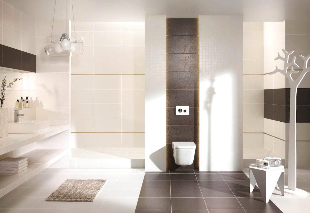 Badezimmer Bordüre Beispiel Imposing On In Atemberaubend 9
