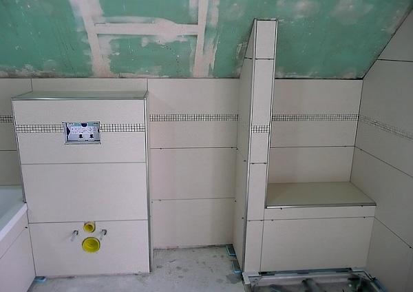 Badezimmer Bordüre Beispiel Interessant On Beabsichtigt Modern Glasmosaik Bad TeeToz Com 1