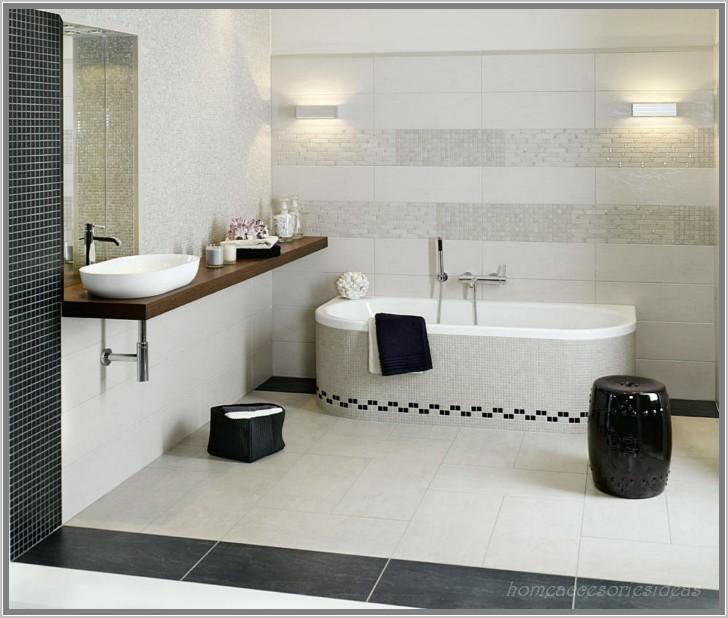 Badezimmer Design 2015 Perfekt On Und Anthrazit Bad Mit Mosaik Interior Fliesen 8