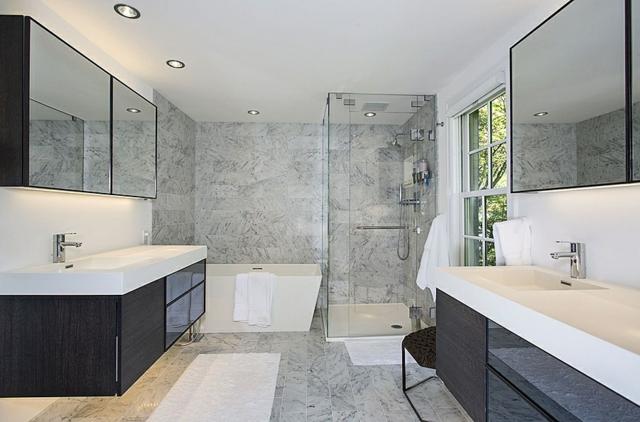 Badezimmer Design Stilvoll On Und 105 Ideen Stein Holz Kombinieren 9