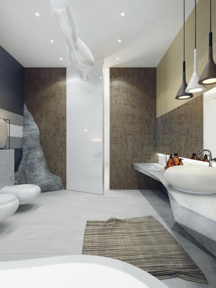 Badezimmer Einrichten Sandsteinoptik Glänzend On überall Uncategorized Im Hinblick 5