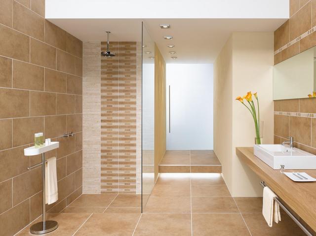 Badezimmer Fliesen Sandfarben Einfach On In Bezug Auf Modern Beige Grau Wo Im 9