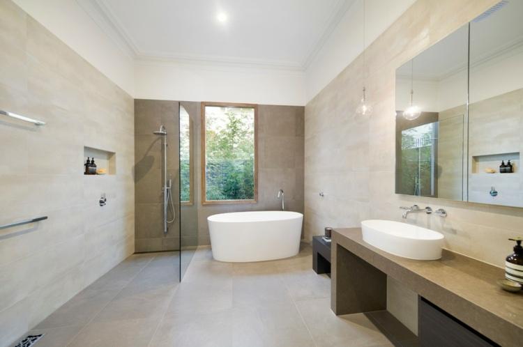 Badezimmer Fliesen Sandfarben Fein On Und Home Design Ideas 7