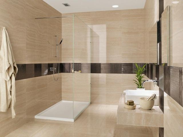 Badezimmer Fliesen Sandfarben Herrlich On Innerhalb Wohndesign 4