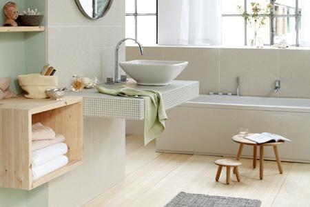 Badezimmer Grau Beige Kombinieren Fein On Beabsichtigt Mit Grün Und Die Farben Der Natur Ins Holen 6