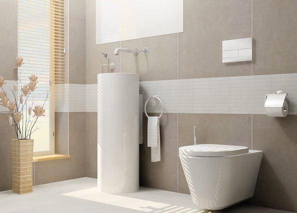 Badezimmer Grau Beige Kombinieren Kreativ On Innerhalb 5