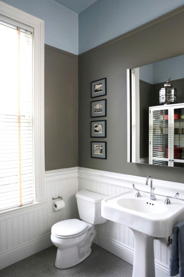 Badezimmer Grau Beige Kombinieren Stilvoll On Und 2