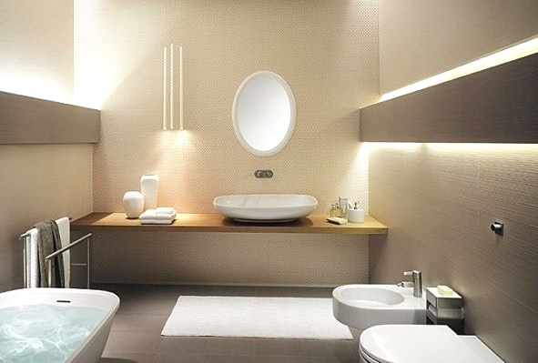 Badezimmer Grau Beige Kombinieren