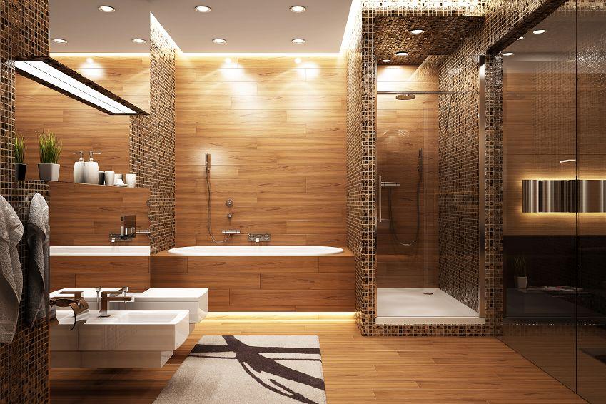 Badezimmer Holz Bemerkenswert On Auf Schnitt Bad Design 3 Amocasio Com 2