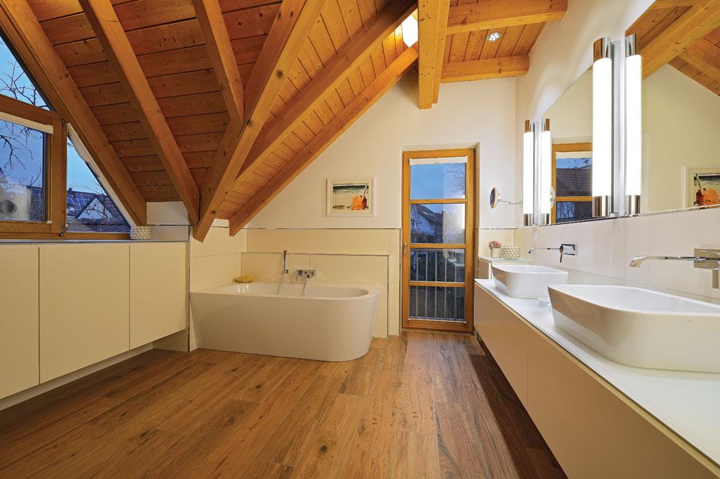 Badezimmer Holz Bemerkenswert On Beabsichtigt Einrichten Und Umbauen Design In Dreieich 9
