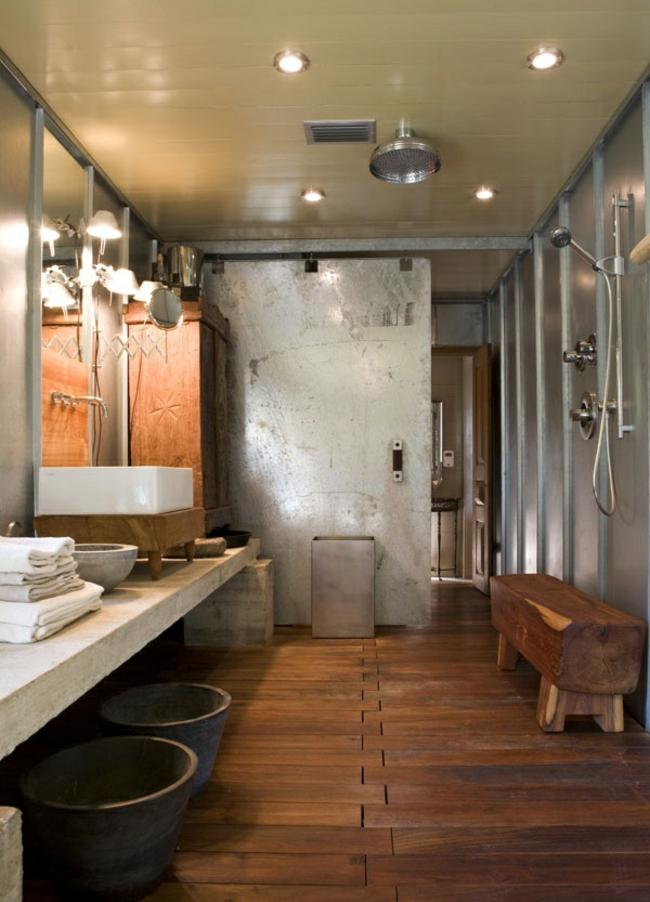 Badezimmer Holz Frisch On überall Bad Aus Gestalten Ideen Für Rustikale Badeinrichtung 6