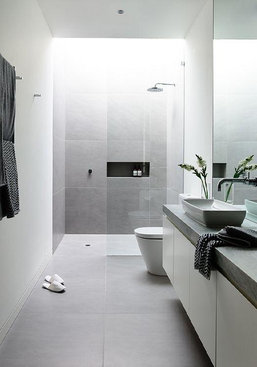 Badezimmer Ideen Grau Charmant On Innerhalb Wunderbar Elegante Graue Haus Deko 8