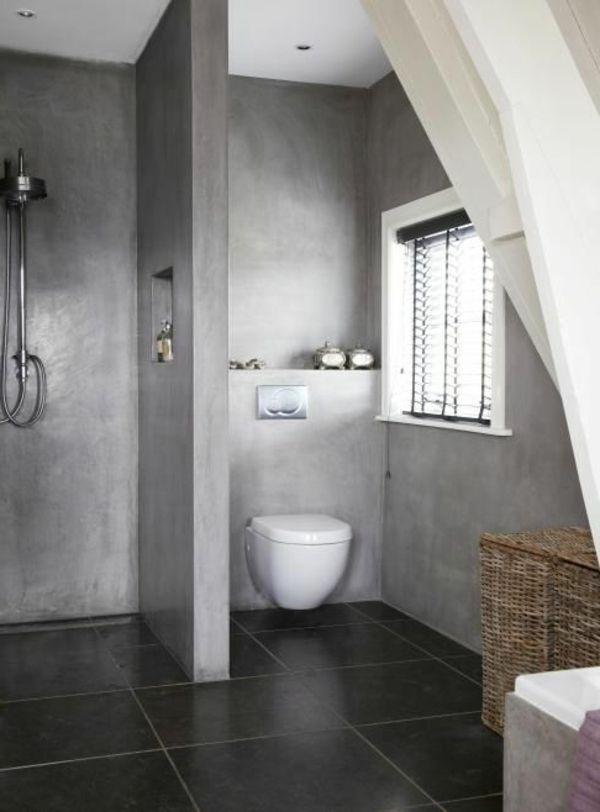 Badezimmer Ideen Grau Frisch On Auf Die Besten 25 Graue Pinterest Toiletten 5