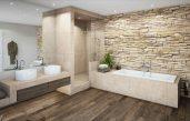 Badezimmer Ideen In Grau Beige