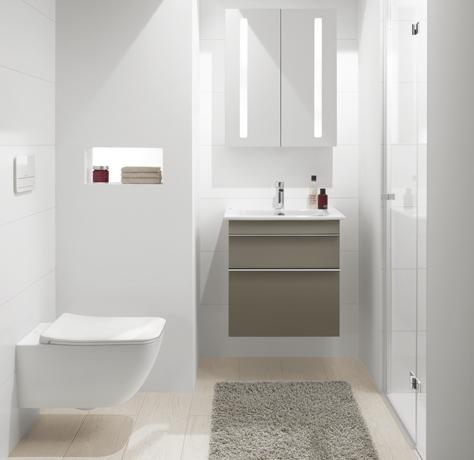 Badezimmer Mit Dusche Frisch On In Kleines Bad Raumlösungen Villeroy Boch 5