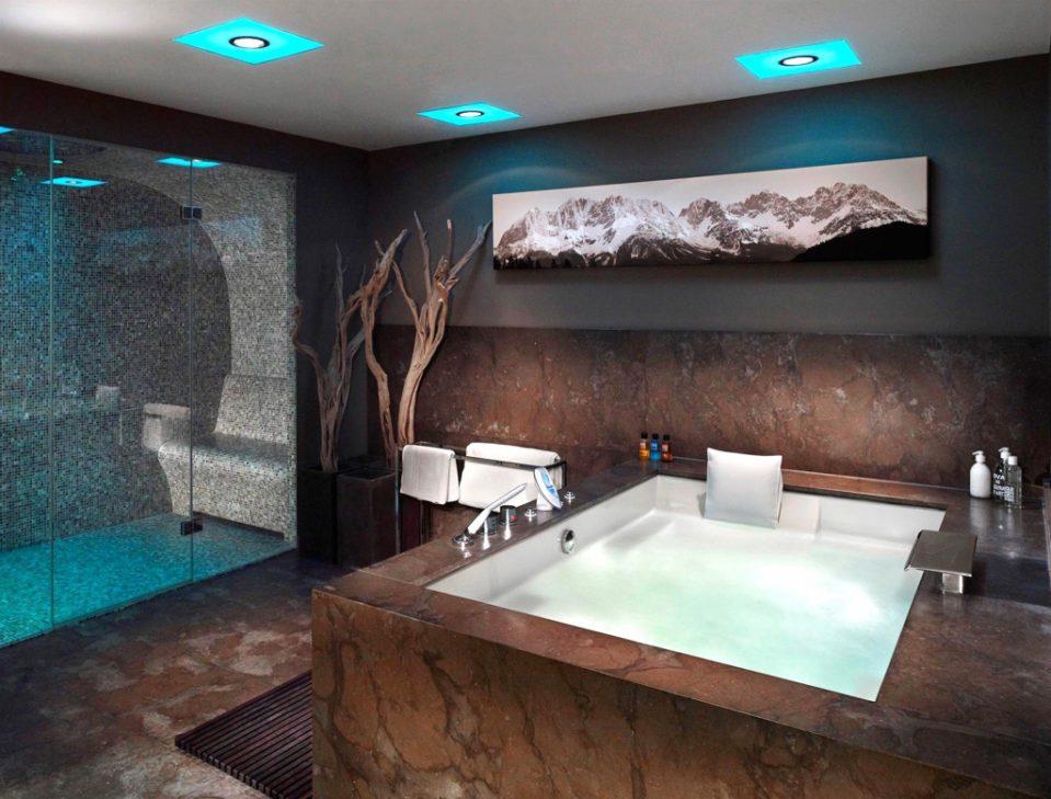 Badezimmer Mit Sauna Und Whirlpool Imposing On Innerhalb Uncategorized Kühles Z 5