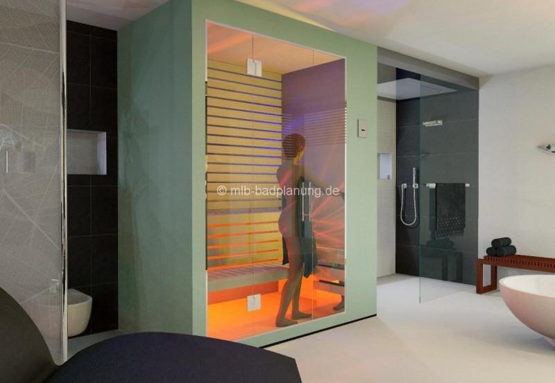 Badezimmer Mit Sauna Und Whirlpool Unglaublich On Für Gewinnen Im Bad 9