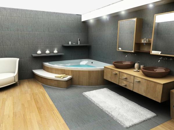 Badezimmer Mit Sauna Und Whirlpool Unglaublich On Haus Luxus Angenehm Auf Moderne 2