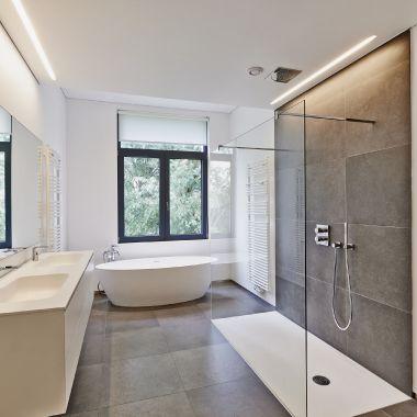 Badezimmer Modern On Auf Fur Kleine Faszinierend Wohndesign 9