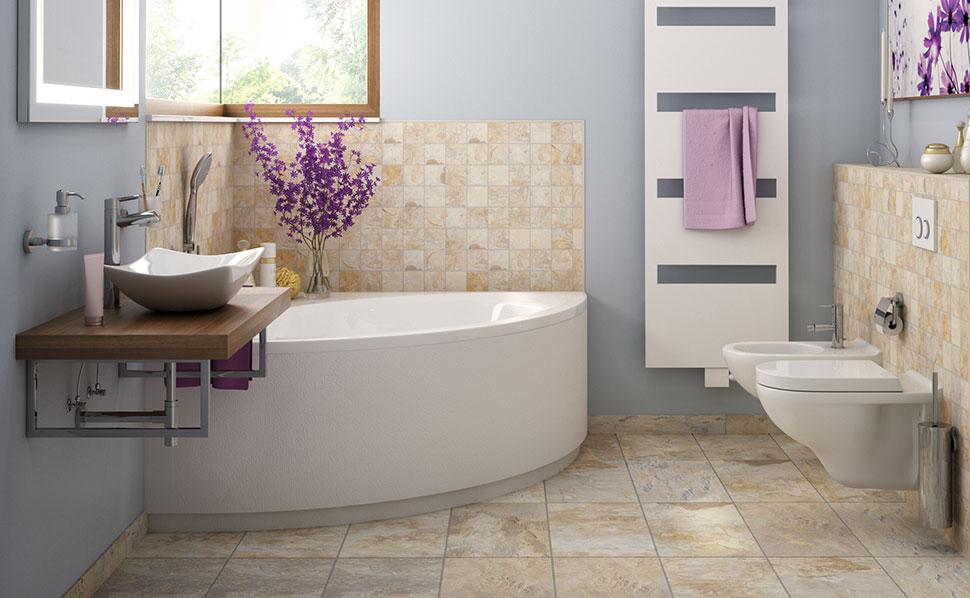 Badezimmer Nett On Innerhalb Musterbäder Ideen Von HORNBACH 6