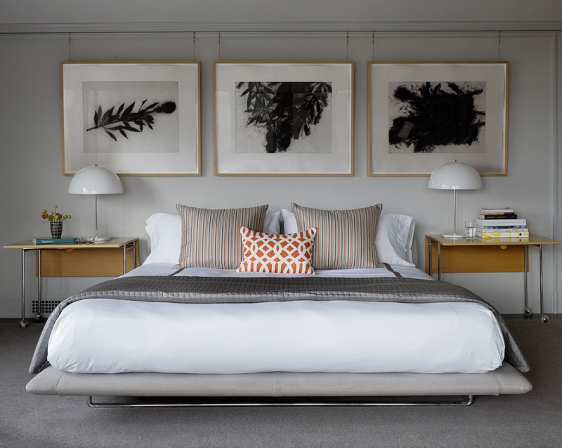 Bilder Schlafzimmer Frisch On In Bezug Auf Für 37 Moderne Wandgestaltungen 3