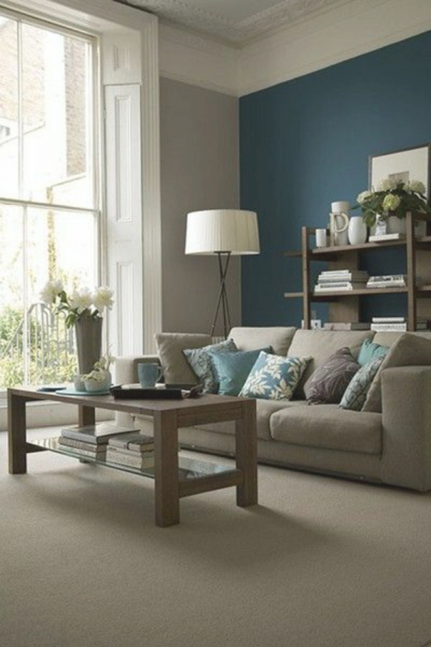 Bilder Wohnzimmer Farbe Beige Flieder Zeitgenössisch On Auf 1