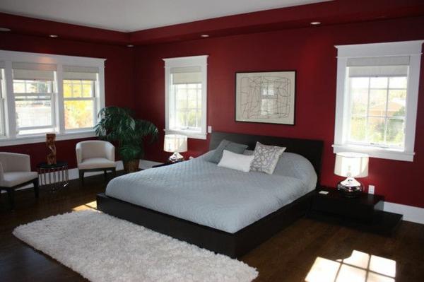 Bordeaux Schlafzimmer Exquisit On Für Perfekt Bordeauxrot Bescheiden Innen ZiaKia 4