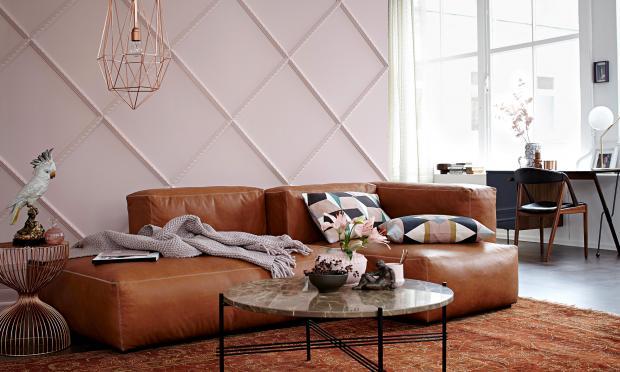 Braun Rosa Wohnzimmer Beeindruckend On überall Wohnen Mit Farben Einrichten In Und SCHÖNER WOHNEN 6