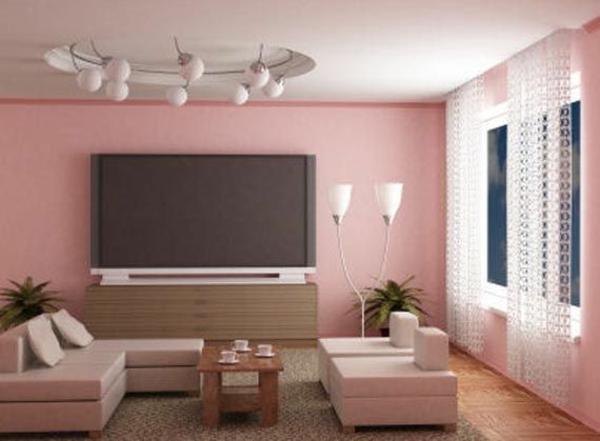 Braun Rosa Wohnzimmer Stilvoll On Beabsichtigt Farbideen Die Verschidenen Optikeffekte 1