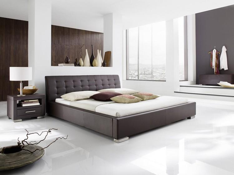 Braun Schlafzimmer Bescheiden On In Bezug Auf Moderne Farben Vermittelt Luxus 4
