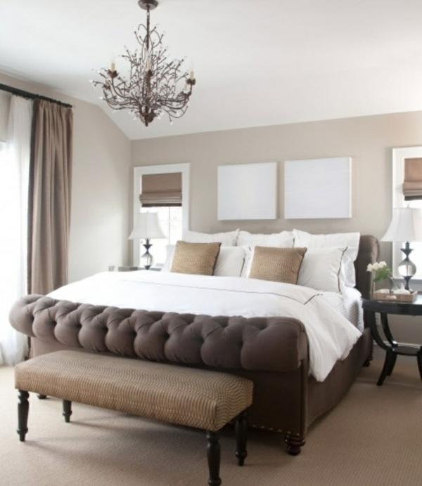 Braun Schlafzimmer Stilvoll On Mit Rosa Wohndesign 6