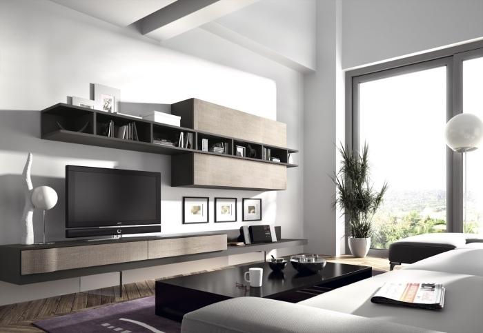 Braun Weiß Wohnzimmer Einfach On Innerhalb Weiss Cabiralan Com 9