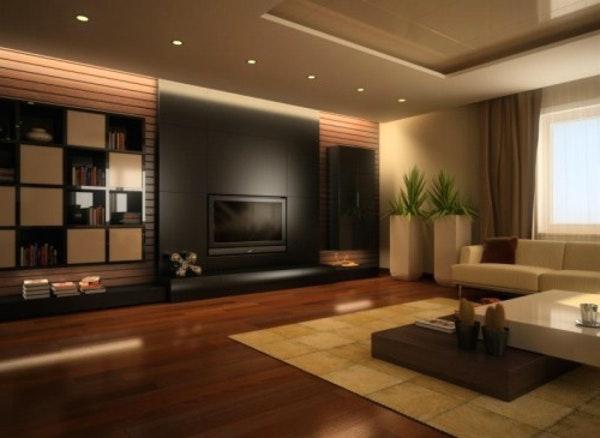 Braune Tapete Wohnzimmer Imposing On Braun In Home Dekor Beeiconic Com 8