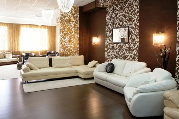 Braune Tapete Wohnzimmer Interessant On Braun Für Best Tapeten Ideen Gallery Ghostwire Us 2