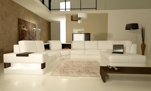 Braune Tapete Wohnzimmer Unglaublich On Braun Innerhalb Wandfarbe 31 Ideen 4