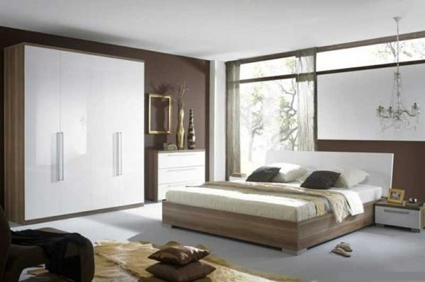 Braune Wandfarbe Schlafzimmer Perfekt On Braun Innerhalb Gestalten Brauntöne Amocasio Com 8