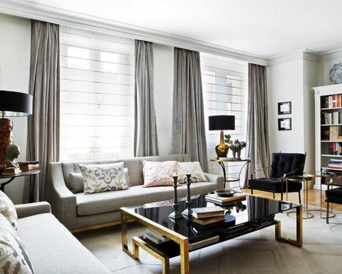 Creme Graues Wohnzimmer Großartig On In Bezug Auf Modernste Zusammen Mit Oder 5