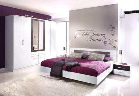 Deko Ideen Schlafzimmer Lila Beeindruckend On Und Weiß Awesome Auf Moderne Oder Wandfarbe 3 8