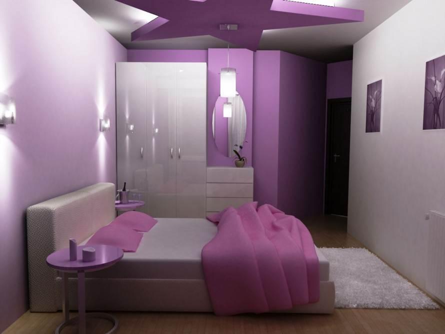 Deko Ideen Schlafzimmer Lila Modern On Beabsichtigt Gemütliches Kleines Malen Mit 9