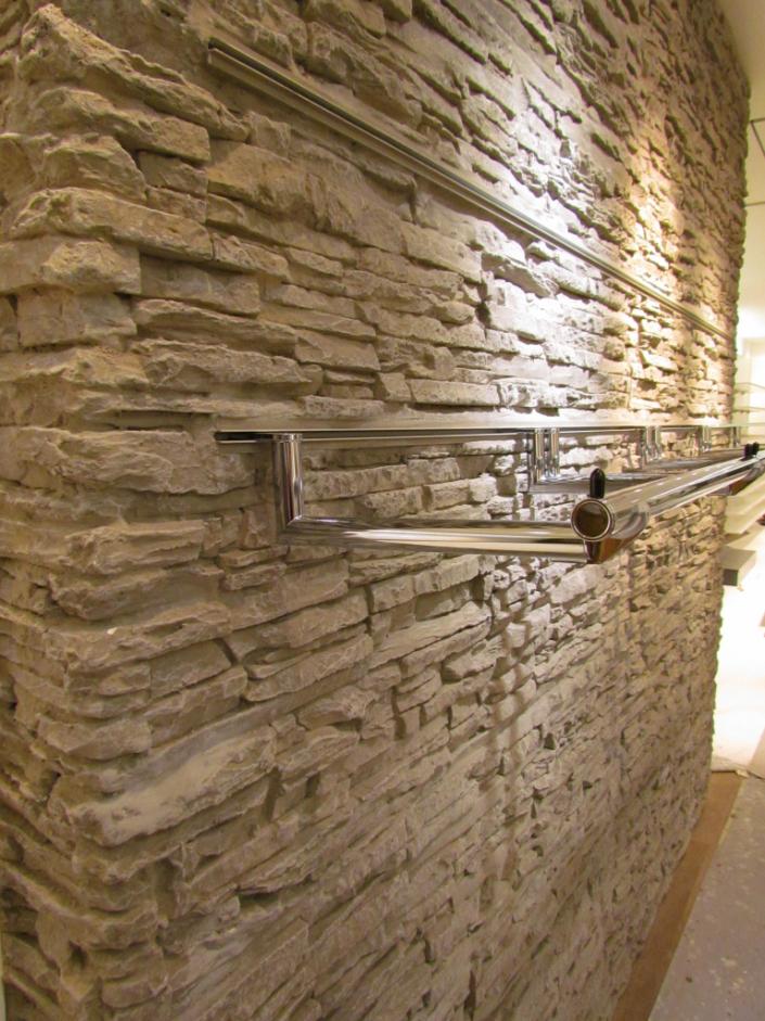 Deko Steinwand Erstaunlich On Andere Für Uncategorized Ehrfürchtiges Wand Steinoptik Montage 9