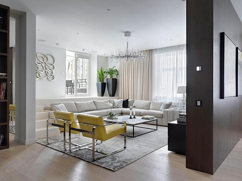 Design Wohnzimmer Einfach On In 125 Wohnideen Für Und Beispiele 8