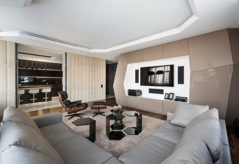 Design Wohnzimmer Schön On Für 125 Wohnideen Und Beispiele 2